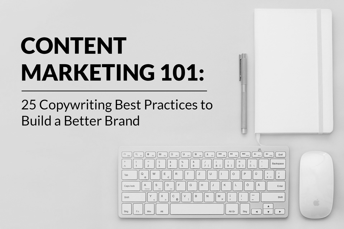 content marketing 101 copywriting best practices list