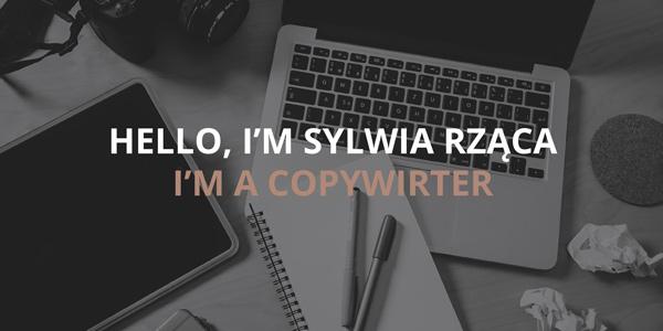 simple, elegant copywriter portfolio example
