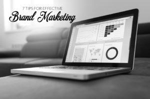 seven tips for effective brand marketing blog image