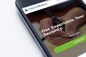 financial website design blog image