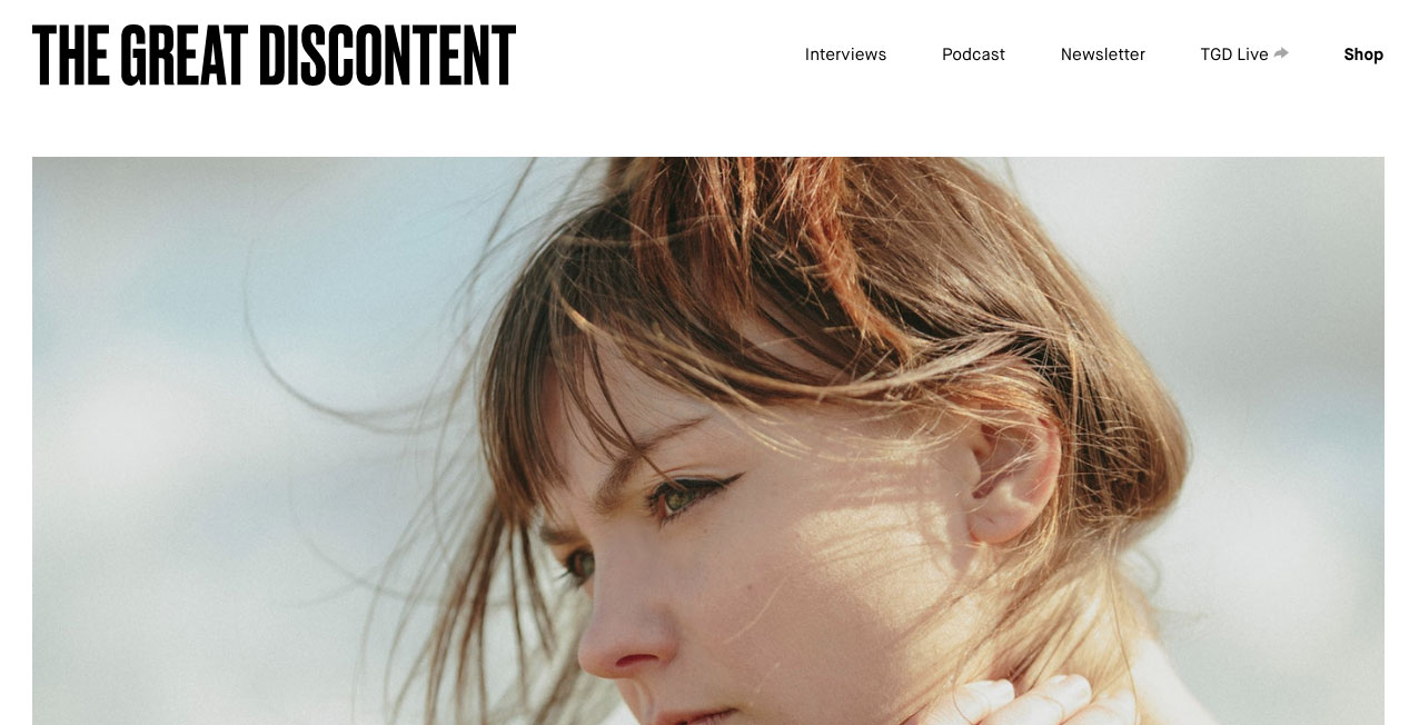 the great discontent homepage
