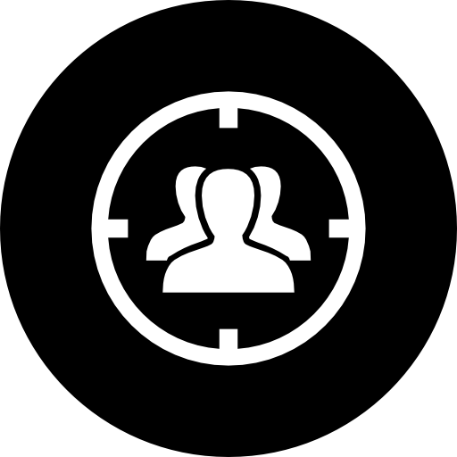 audience target icon