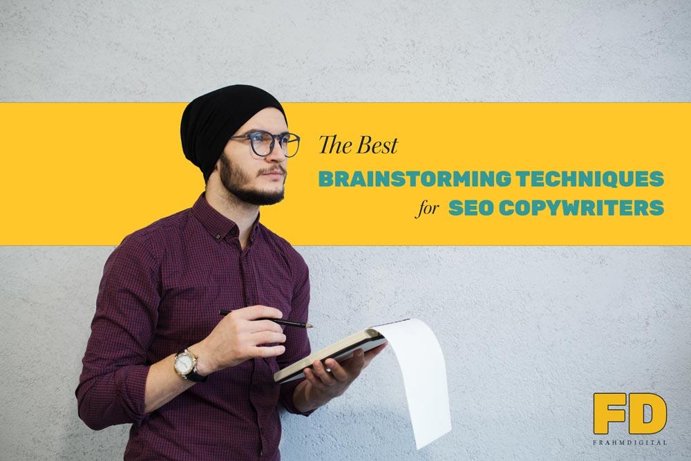 copywriter brainstorming