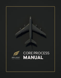 cover of core process manual for aviation company