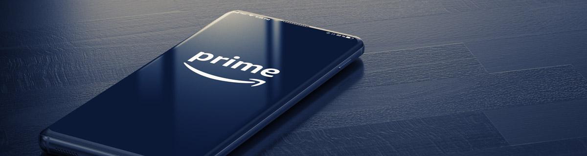 Amazon Prime App on Smartphone