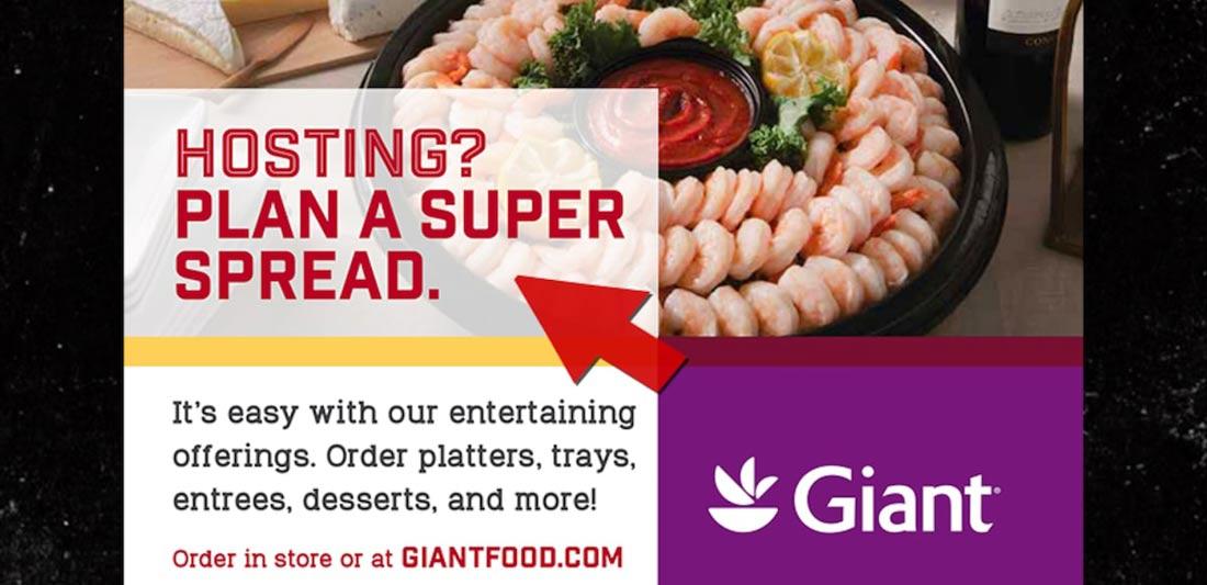 Giant Foods Copywriting Fail
