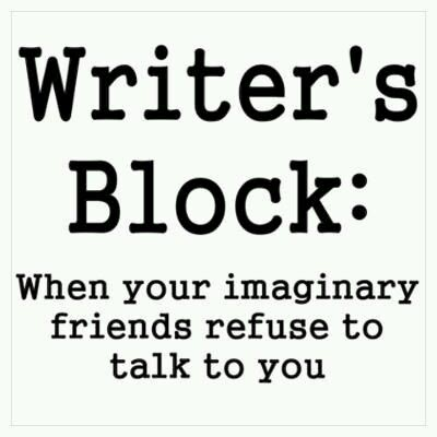 "Writer's Block Meme: ""When Your Imaginary Friends Refuse to Talk To You."""