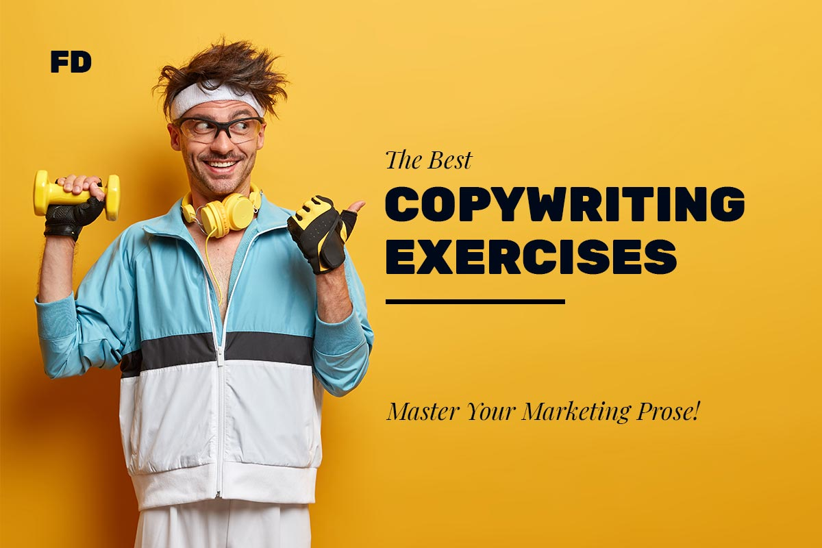 Copywriter Exercising Cover Image