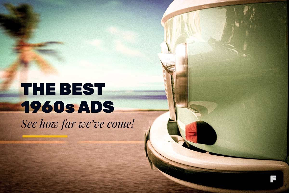 1960s Volkswagen Bus advertisement
